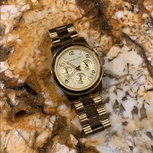Michael Kors Womens Multifunction Runway watch